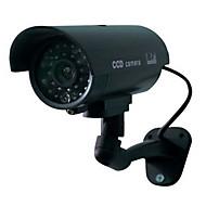 Sigurnost kod kuće nadzor vanjska vodootporna LED treperi ir simulacija kamera