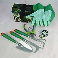 multifunctionele Oxford / hout / plastic snoeischaar / shovel / spuitnevel ketel tuin tool set (6pcs / set)
