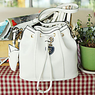 Women PU Shoulder Bag White / Pink / Blue / Green / Yellow / Black