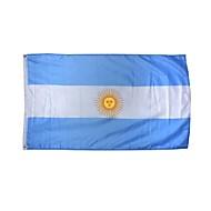 új 3x5 láb argentina flag nagy poliészter nemzeti zászló beltéri kültéri lakberendezés (nélkül zászlórúd)