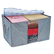 Storage Bags Bamboo withFeature is Lidded , For Cloth / Quilts