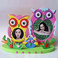 "3""DIY EVA Photo Frame Foam Craft Kits 3D collage sticker child Creative Toy(Random Color)"