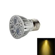 YouOKLight® E27 200lm 3000K 3-LED Warm White Light Spotlight - Silver (AC100-240/110-130V/220-240V/85-265V)