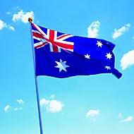 90x150cm stor australia flagg polyester aussie nasjonale banner hjem innredning