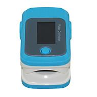 sportguard fingertupp pulsoksymeter spo2 pulsklokke - blå
