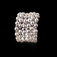 Damen Armbänder Private Perlenkollektion Künstliche Perle Strass