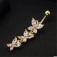 Vücut Mücevheri/Navel & Bell Button Rings Paslanmaz Çelik Others Eşsiz Tasarım Moda 1pc