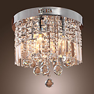MAX:60W Montage de Flujo ,  Tradicional/Clásico Cromo Característica for Cristal MetalSala de estar / Comedor / Habitación de