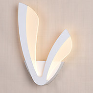 Indoor Modern Acrylic LED Wall Light Wing Shaped Bedside Lamp Corridor Lights AC85-265V