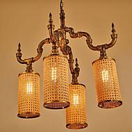40W מנורות תלויות ,  גס אחרים מאפיין for סגנון קטן מתכת חדר שינה / חדר אוכל / חדר עבודה / משרד / חדר ילדים / מסדרון / מוסך