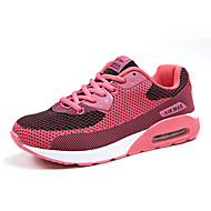 Women's Shoes Fleece Flat Heel Comfort Flats Athletic Black / Blue / Gray / Fuchsia / Orange
