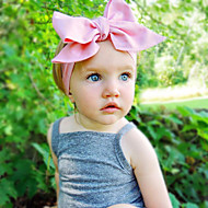 Kid's Candy Colors  Lovely Dots Big Bowknot Headband(0-10Years Old)