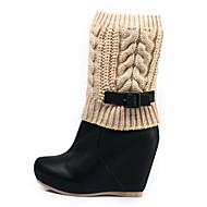 Kiss Kitty Women's Fur Boots - S32714-04MD