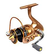 Metal  Fishing Spinning Reel Gear Ratio 5.1:1 Exchangable Handle-AF5000
