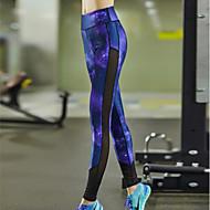 Corrida Calças / Meia-calça / Leggings / Fundos Mulheres Respirável / Secagem Rápida / Compressão / Redutor de Suor TactelIoga / Pilates