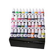 40 colori Tatuaggio fornitura set tatuaggio pigmento 8ml
