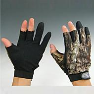 rövid 3 ujjak álcázás halászat vadászat csúszásgátló kesztyű XXL-es méret