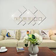 אופנה / פנטזיה / 3D מדבקות קיר מדבקות קיר מראות,PVC 20x20X0.1