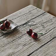 木材のような穀物のテーブルクロスのファッションhotsaleのハイグレード綿のリネン正方形のコーヒーテーブルクロスカバータオル
