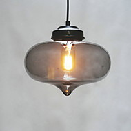 Bubble Design Pendant, 1 Light, Minimalist Iron Painting