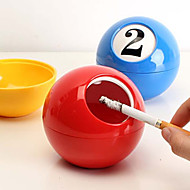 Ashtray Billiards Furnishing Articles Decorations Creative Household Act the Role Ofing Is Tasted(Random color)