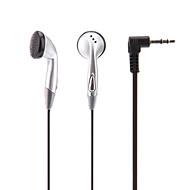 En la oreja los auriculares para el iPod/iPad/iPhone/MP3 (Negro)