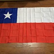 chilei zászló 90 * 150cm a zászlók értékesítik világ minta egyéni minőségű poliészter ünneplés dekoráció