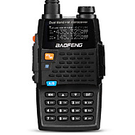 BaoFeng UV-5R 4TH Walkie-talkie 5W/1W 128 136-174MHz / 400-520MHz 2800mAh 1,5km-3kmFM-radio / Spraakverzoek / Dual-band / Dubbel scherm /