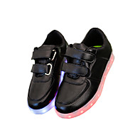 Women's / Boy's / Girl's Sneakers Summer Round Toe / Sandals Leatherette Outdoor / Casual / Athletic Flat Heel Magic Tape / LEDBlack /