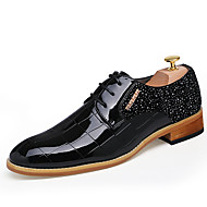 Business British Style Casual Men's High Quality Lace-up Leather Dress Shoes for Party/Office/Wedding