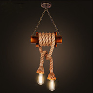 American Country Droplight of Chinese Style Restoring Ancient Ways Of Bamboo lamp