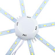 12W תאורת תקרה 24 SMD 5730 960 lm לבן קר דקורטיבי AC 220-240 V חלק 1