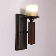 Estilo Mini Lâmpadas de Parede,Rústico/Campestre E26/E27 Madeira/Bambu