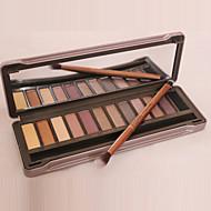1Pcs The 2 Generation Of Genuine Original 12 Color Eyeshadow Eyeshadow Nude Make-up Earth Color Matte Pearl Color