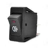 jtron auto switch / magla zeleno / crveno prekidač svjetala - crna (30a / 12v)