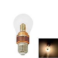 5W E26/E27 LED kulaté žárovky CA35 25 SMD 2835 400 lm Teplá bílá Ozdobné AC 85-265 / AC 220-240 / AC 110-130 V 1 ks