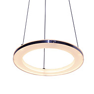 12W D30CM Modern/Contemporary LED Acrylic Pendant Lights / Dining Room / Study Room/Office
