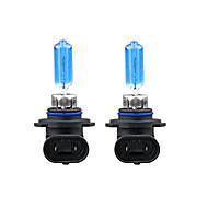 2 X HB3 9005 White Car Headlight Light Lamp Bulbs 100W