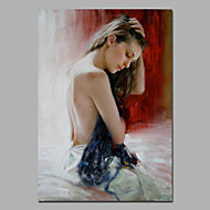 Nice Lady Painting Design For Home Decor Acylic Oil