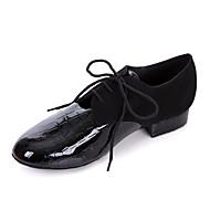 Męska skóra Górna Modern Dance Shoes Oksfordzie z koronką-upy