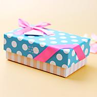 비 개인화-웨딩 / 기념일 / 브라이덜 샤워 / 베이비 샤워 / 성인식 & 스윗 16 / 생일-클래식 테마-기프트 박스(블루,카드 종이)