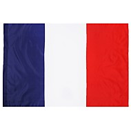 France Flag 3Ft X 5Ft 100% Polyester French Flags And Banners Outdoor Indoor 150X90Cm For Celebration Big Flag