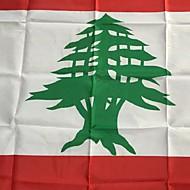 3x5 fot Libanon flagg 90 * 150cm verdens flagg hendelser fest festival parade lift møbler