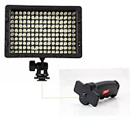Poplar Photography CN-160 LED Light with Flash Light Grip for Camera