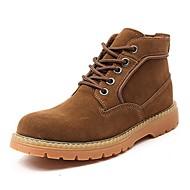 מגפיים גברים של נעליים שטח / קז'ואל / ספורט / Work & Duty סוויד כחול / חום