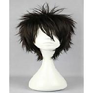 cospaly parykk 30cm seks farger mannlige korte lagdelte frisyrer kagerou prosjekt kano shuuya naturlig hår parykker drakt parykk
