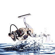 Low Profit  Aluminum Reel 2000-7000 Size 5.2:1 12 Ball Bearings All Metal Sea  Freshwater Fishing Spinning Fishing Reel