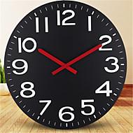 Redonda Moderno/Contemporâneo Relógio de parede,Outros Metal 58*58*4