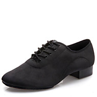 Latin / Modern-Pantofi de dans(Negru) -NePersonalizabili-Bărbați