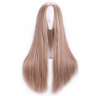 natual rubia harajuku pelucas cosplay baratas Peruca mujeres sintéticas peluca pelucas de cabello de anime lolita cosplay peluca larga
